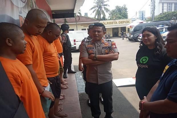 7 Pelalu Penipuan Order Fiktif Ojek Online Ditangkap Polres Metro