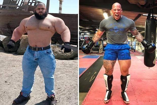 'Iranian Hulk' to fight in Bare Knuckle Fighting Championship on 'USA vs Iran: World War III' card next year
