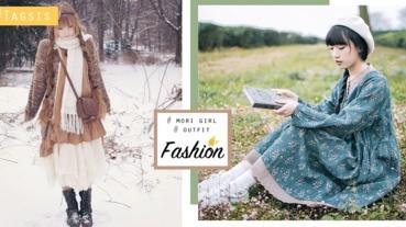 像小鹿一樣自然純淨的女生!21套森林系女孩穿搭,穿出自己的自然風格~