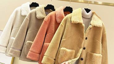 毛毛外套推薦精選!6款秋冬必備毛毛造型外套,讓你的療癒可愛力大爆發!