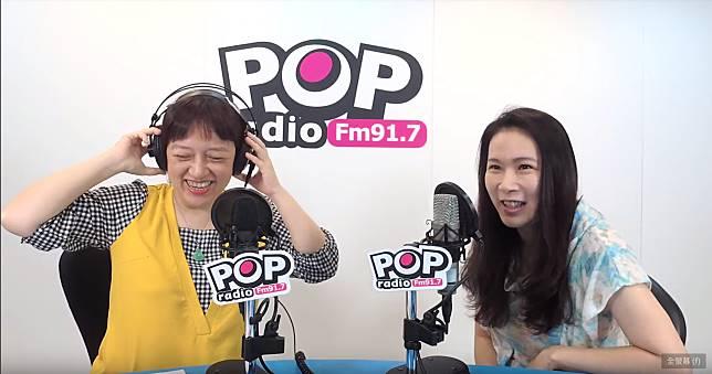 郭辦發言人、永齡基金會執行長劉宥彤接受pop搶先報邱明玉專訪。