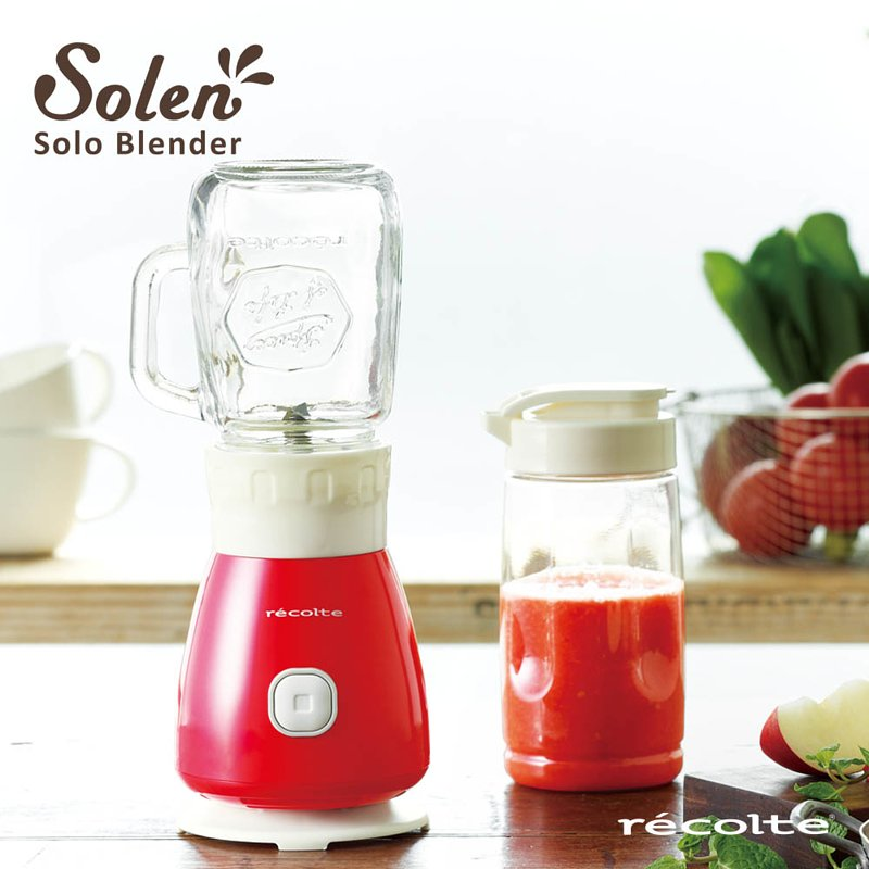 recolte 日本麗克特|Solen 復古果汁機 RSB-3