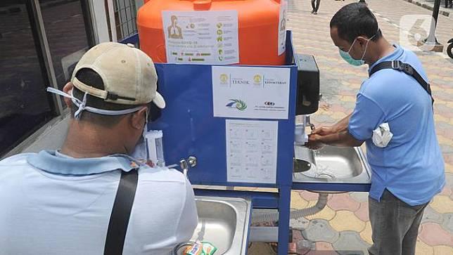 Pemkot Bogor Sediakan Wastafel Portabel Buat Warga