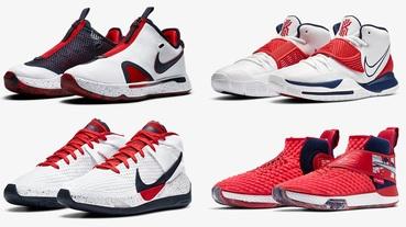 新聞分享 / 用一系列 Nike Basketball 美國隊配色球鞋一嚐奧運滋味