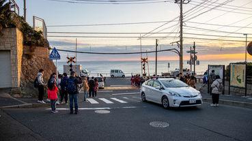 鎌倉一日遊 灌籃高手迷的鎌倉高校站必朝聖 滿足青春記憶的那條平交道