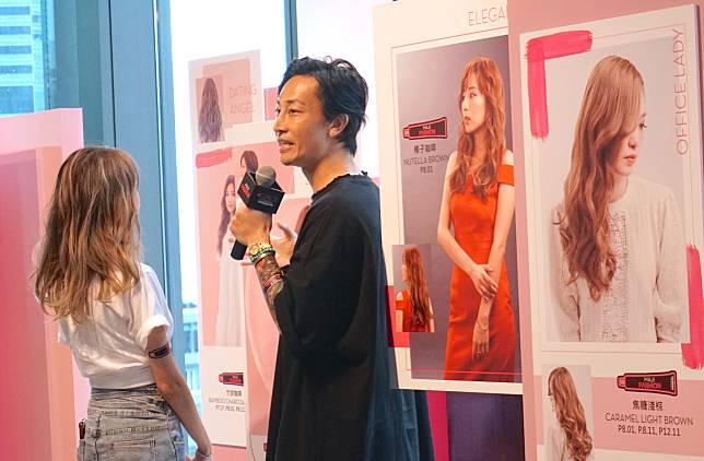 MAJIFASHION源自品牌皇牌的MAJIREL染髮系列。