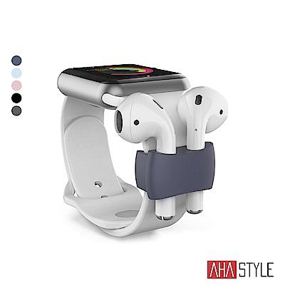 貼合的尺寸設計使耳機能牢靠固定 為運動攜帶耳機帶來便利 適用於寬度小於42mm的錶帶 輕巧簡約,多種顏色選擇