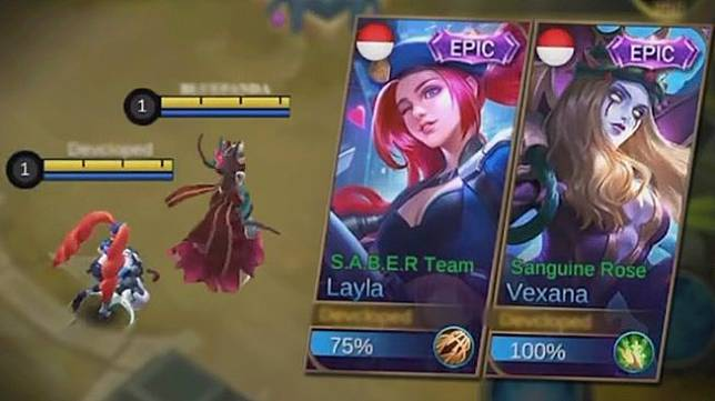 Ilustrasi hero Layla Mobile Legends. (YouTube/ Blue Panda2)