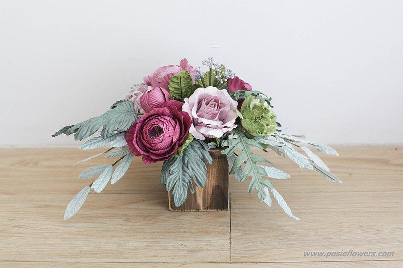 用於工作空間裝飾的花盆!