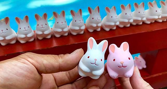 兔迷朝聖必去!兔子守護神@ 京都 岡崎神社