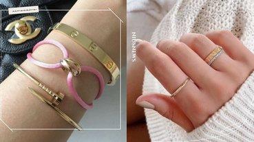 5萬內微痛入手Cartier!經典三環戒、Love系列,還有這款手環2萬有找!