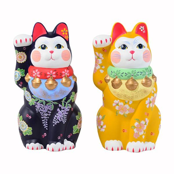 【堯峰陶瓷】日本九谷燒 手工 彩繪陶瓷 招財貓 擺飾品 療癒公仔