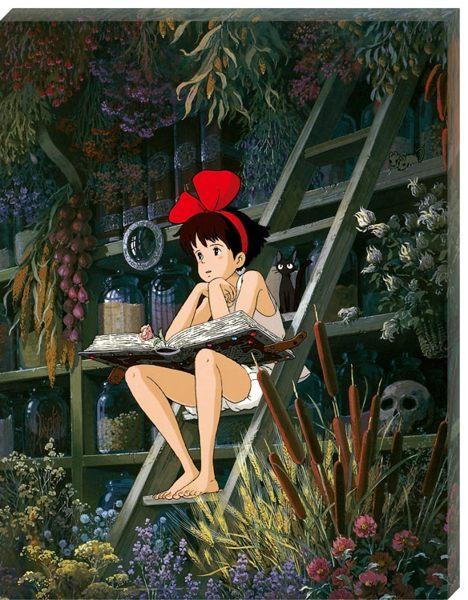 【拼圖總動員 PUZZLE STORY】發呆 日本進口拼圖/Ensky/魔女宅急便/366P/塑膠無框畫