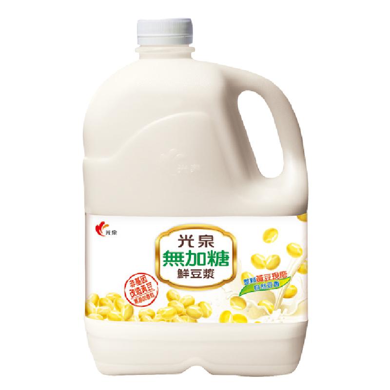 光泉無加糖鮮豆漿2720ml