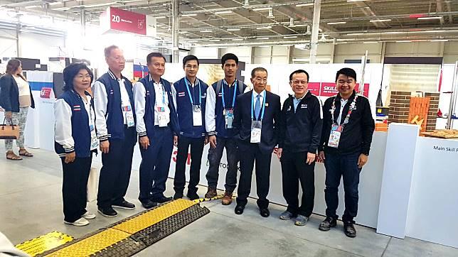 ตัวแทนเยาวชนไทยทุ่มเต็มร้อยโค้งท้ายแข่งขันฝีมือแรงงานนานาชาติหวังคว้าเหรียญกลับไทย