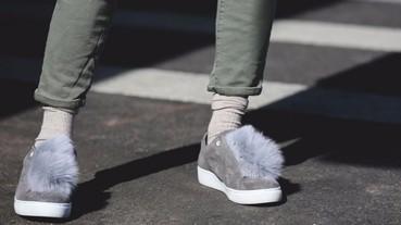 超可愛又保暖,女孩們今年秋冬一定要有一雙毛毛鞋