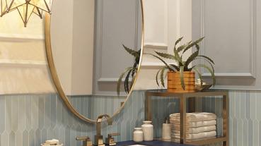 浴室鏡子也可以很時尚!教你如何挑選浴室化妝鏡、用對清潔方法