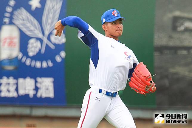▲世界棒球12強中華隊投手劉致榮。(圖/記者葉政勳攝 ,