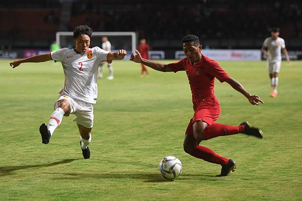 Timnas U-19 kalahkan Tiongkok 3-1