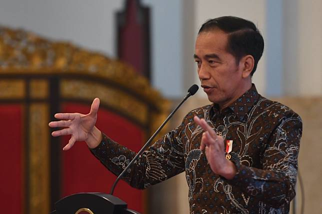 ?President Joko Widodo is upset about the planned construction of a delayed oil refinery.Photo: Antara