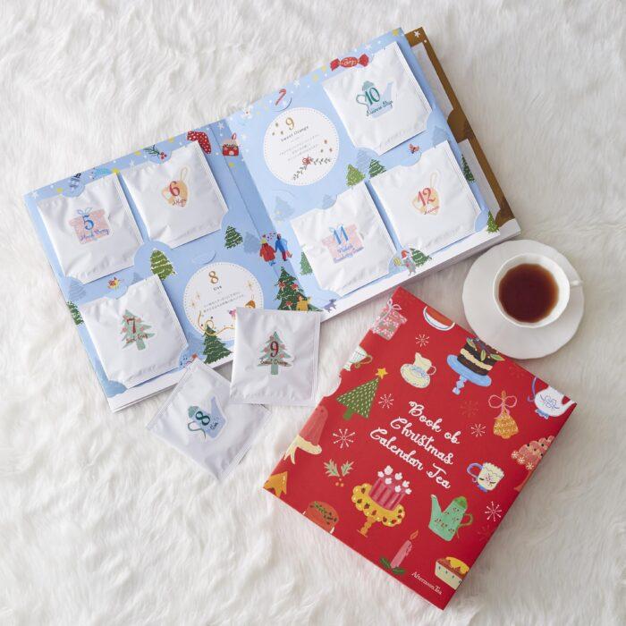 聖誕倒數茶書月曆內頁