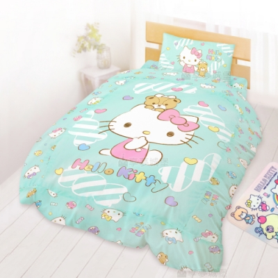 三麗鷗 正式授權 台灣精製 安心滿分 超細纖維 輕柔舒適 親膚舒適 睡眠無負擔 被套有鋪棉 有拉鍊 可塞被胎