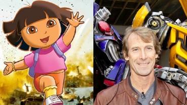 麥可貝製作《愛探險的Dora》真人版演員出爐 女主角將由這一代「變形女」飾演!