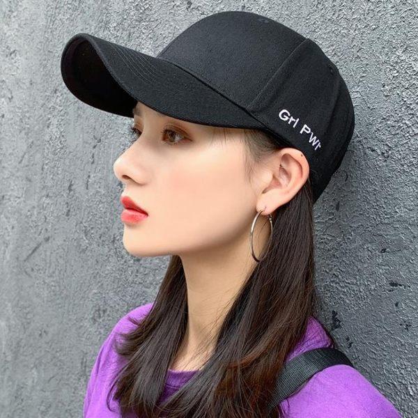帽子帽子女韓版潮百搭鴨舌帽ins潮人時尚棒球帽春夏男 晶彩生活