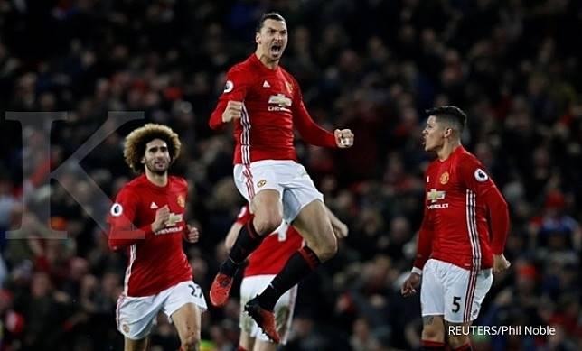 Ibrahimovic siap kembali ke Manchester United, tapi…