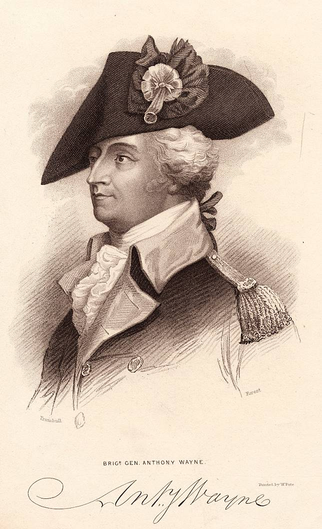 美國獨立戰爭將軍Anthony Wayne,更成為漫畫故事中Wayne家族的祖先。(互聯網)