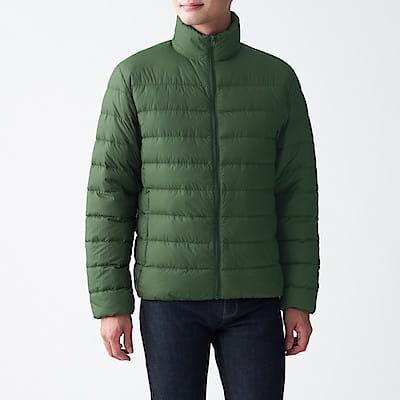 [MUJI無印良品]男輕量澳洲羽絨可攜式立領外套