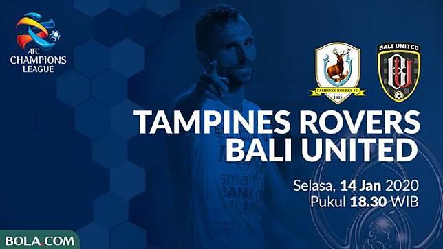 Tampines Rovers Vs Bali United