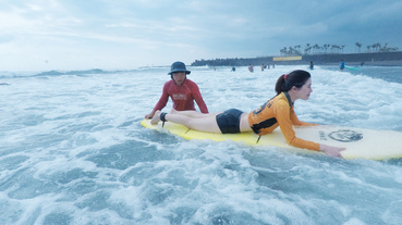 【台灣旅遊】衝浪必去外澳海水浴場!陽光海攤正妹和猛男的歡樂天堂│沒時間也要擠出時間玩#5