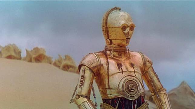 Droid C-3PO di 'Star Wars'. (Foto: Star Wars)