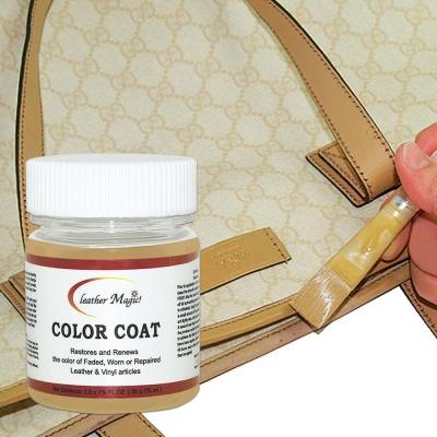 專屬色皮革染料,無溶劑刺鼻味,操作簡易!GUCCI 專屬乳黃色,直接補色,不用另外調!組合內附有中文使用說明書,自己動手超簡單!來自美國的皮革專業保養品牌,為國際間指定的皮革保養油 / 乳。