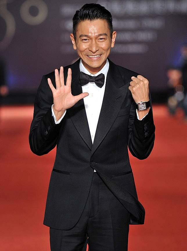 劉德華過去也曾來台參加金馬獎。圖/聯合報系資料照