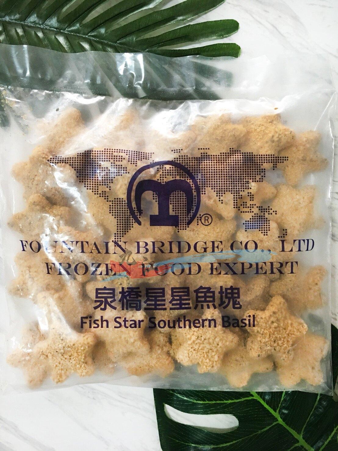 【九江水產】星星鱈魚塊---達X樂的鱈魚星星