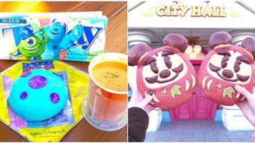 史努比控會瘋掉!2019 日本「迪士尼、大阪環球影城」6 樣園區美食大特蒐 你敢吃毛怪肉包嗎?