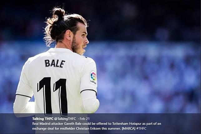 VIDEO - Diajak Bicara Bahasa Spanyol, Gareth Bale: Kamu Ngomong Apa?
