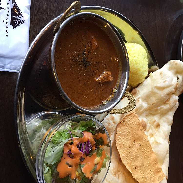 新宿区周辺で多くのユーザーに人気が高いインドカレーインド料理ムンバイ四谷店+The India Tea HouseのButter Chicken Curryの写真