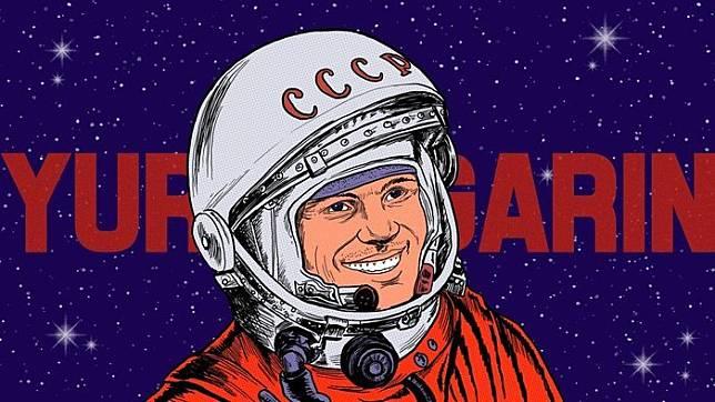 Yuri Gagarin. tirto.id/Nauval