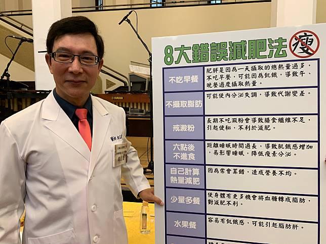 【有影】喝水聽歌走路就能瘦!「醫界劉德華」邱正宏倡3 8 8音樂減肥法