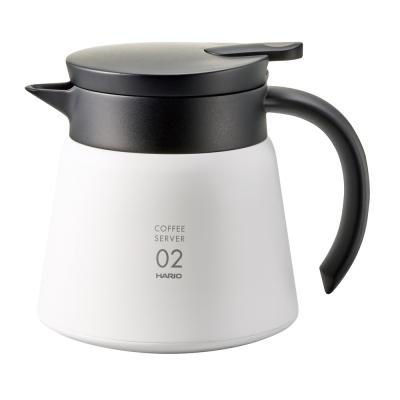 雙層真空結構,保溫效果佳一鍵按壓即可出水可搭配V60咖啡濾杯使用