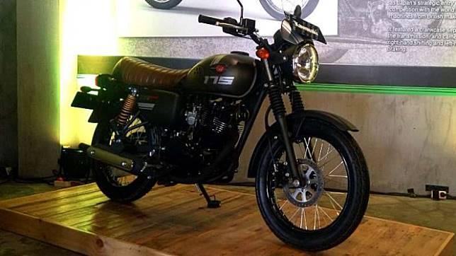 Kawasaki W175 Cafe Racer