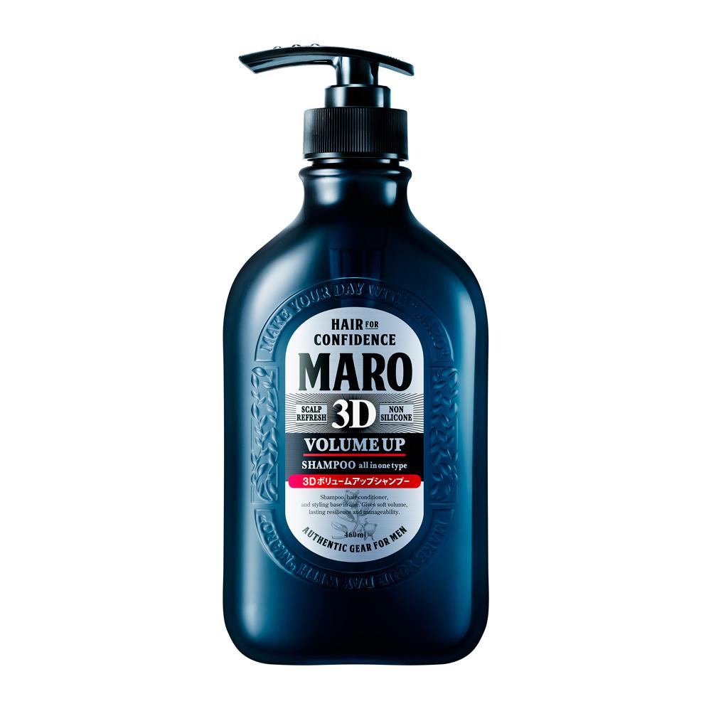 MARO起立 3D豐盈洗髮精460ml