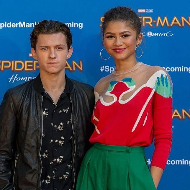 Tom曾與Zendaya傳緋聞。