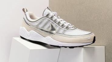 Nike Air Zoom Spiridon 全新「Cream」配色!