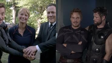 〔復仇者聯盟〕《復仇者聯盟3》全新幕後花絮影片釋出!演員們私底下都超嗨