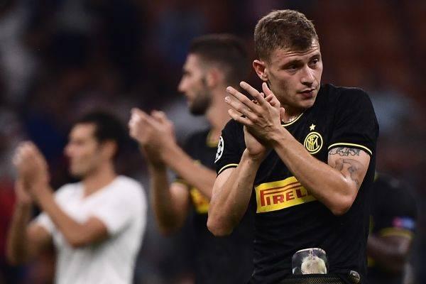 Gol Telat Barella Selamatkan Inter dari Kekalahan