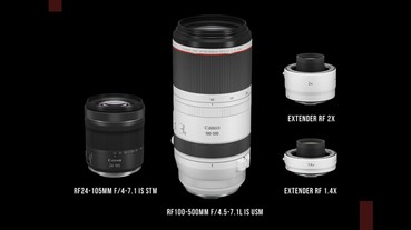 Canon 發豪語:將於 2020 年推出 9 款 RF 鏡頭,包含 24-105 與 100-500 L 等鏡頭